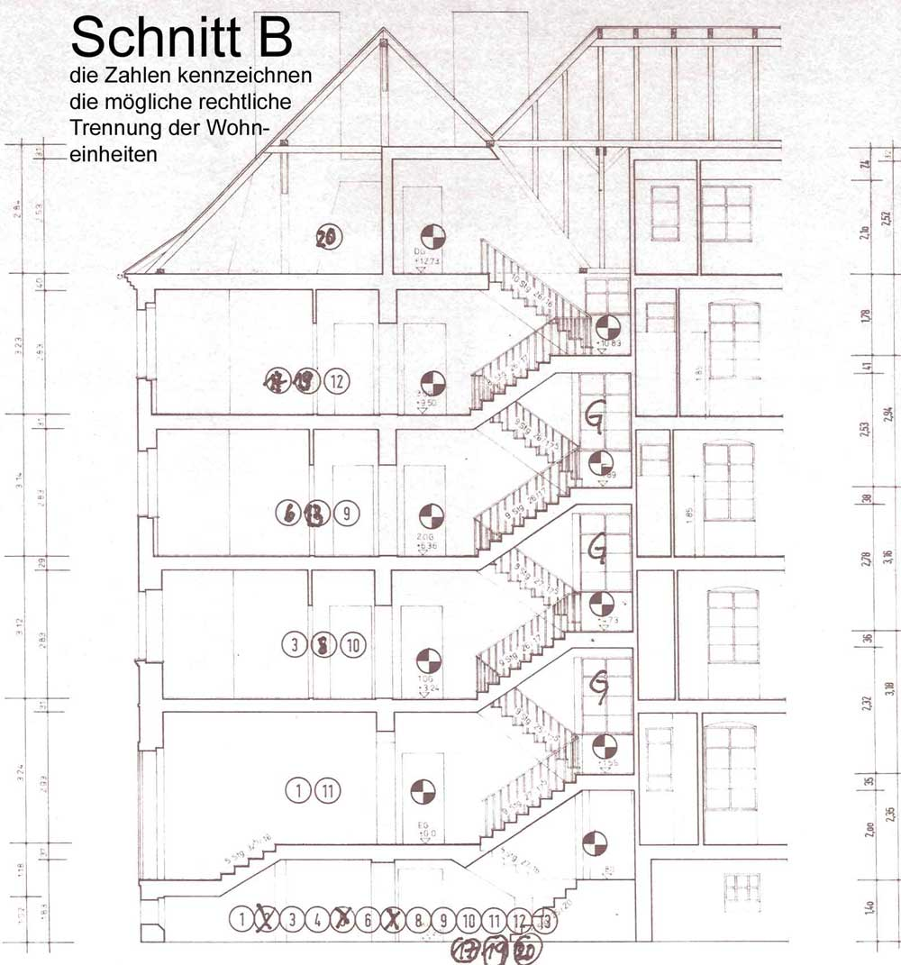 Treppenhaus Technische Zeichnung | loopele.com
